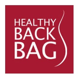 Healthy Back Bag 7304 Bk Black microfibre Med