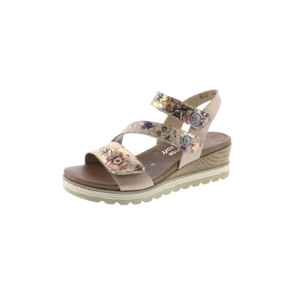 343a78493519 Sandal with tripple adjustment for a excellent fit