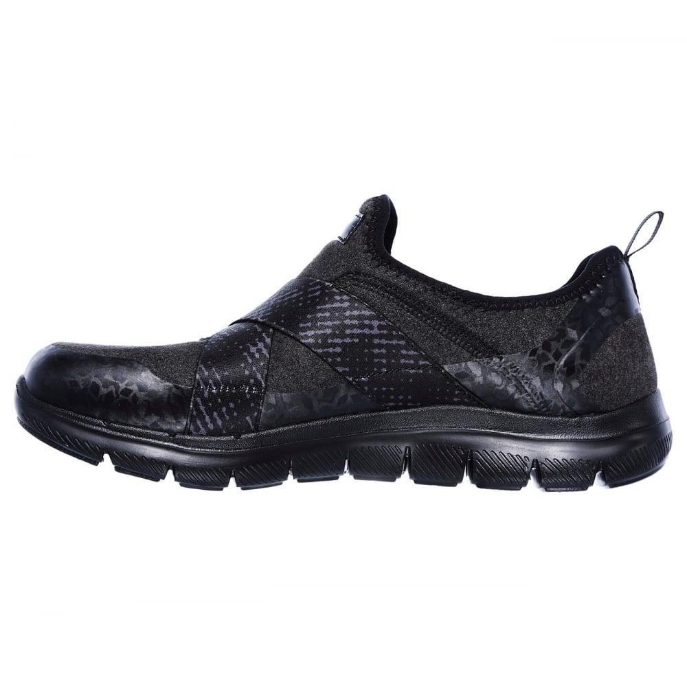 como comprar servicio duradero nuevas variedades Skechers 12619 BBK - Ladies Shoes from Strolling 4 Shoes UK